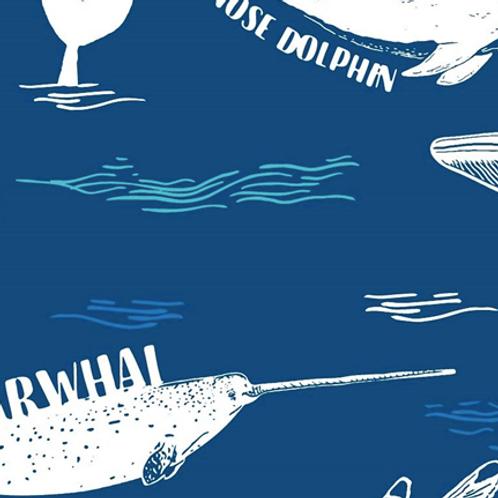 Craft Cotton Company - Explore Ocean Whales