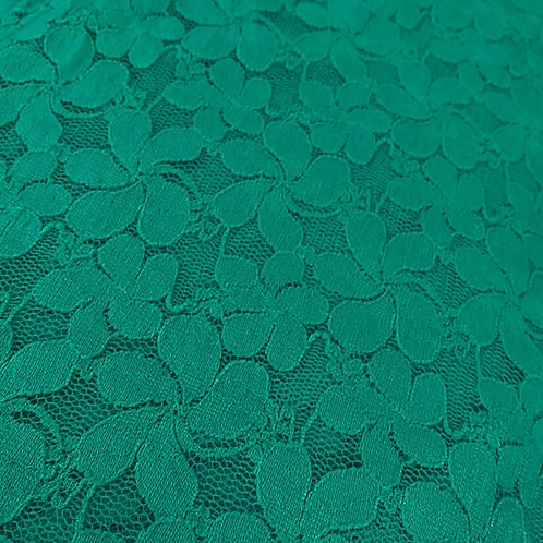 1/2 Metre Santorini Lace - Green