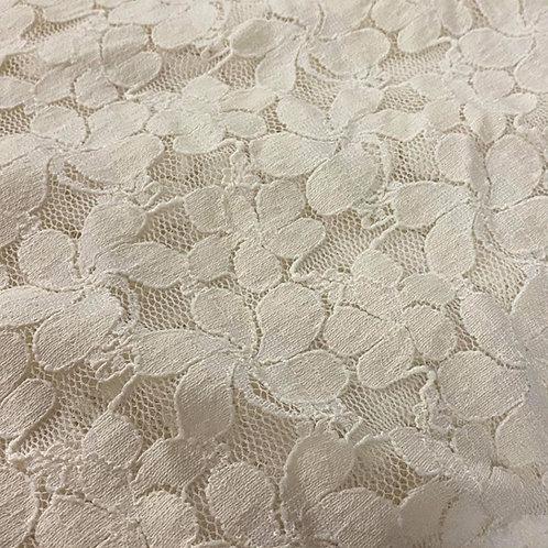 1/2 Metre Santorini Lace - Vanilla