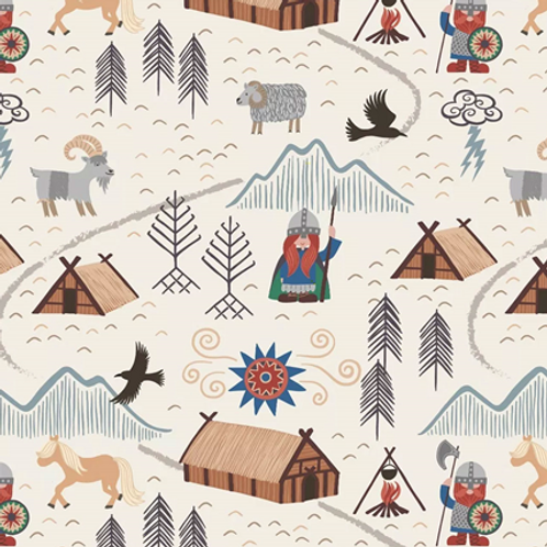Lewis & Irene - Viking Village - Cream
