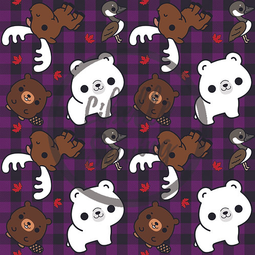 Kawaii Canada (Purple)