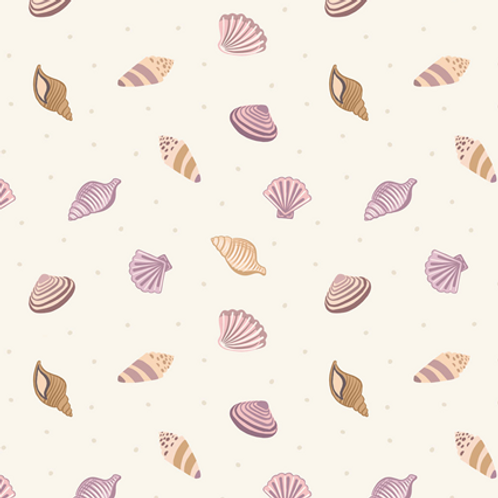 Lewis & Irene - By The Sea - Shells Creme