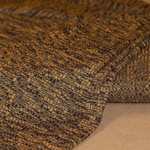 1/2 Metre Mustard Rib Sweater Knit
