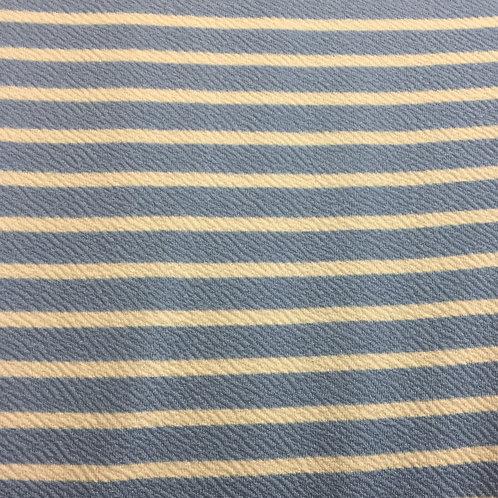 Light Blue Liverpool Horizontal Stripe