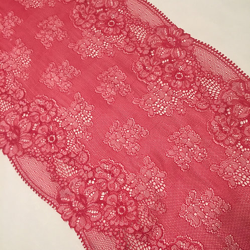 """8""""/20.3cm Cherry Stretch Galloon Lace"""