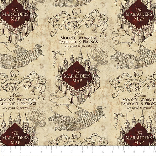 Camelot - Harry Potter Marauder's Map