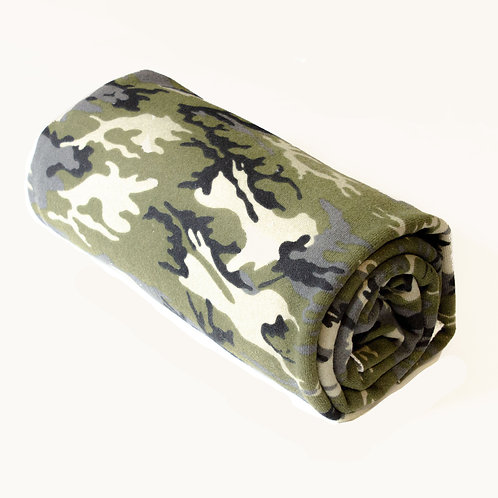1/2 Metre Camo French Terry