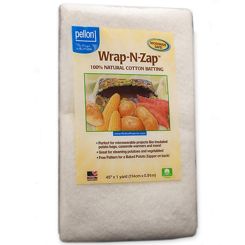 Pellon WZ-2210 Wrap-N-Zap Microwavable Batting