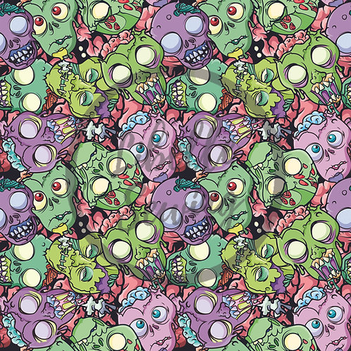 Cotton Lycra - Astro Zombies (30% Reduced Scale)