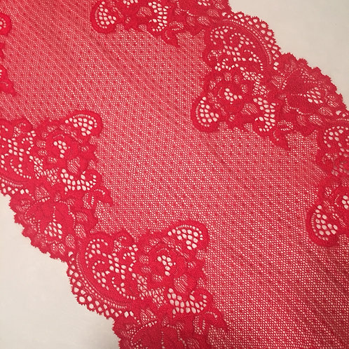 "8.5""/21.5cm Paprika Stretch Galloon Lace"