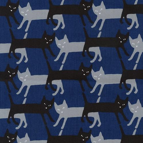 Robert Kaufmen - Sevenberry Mini - Cats (Royal)