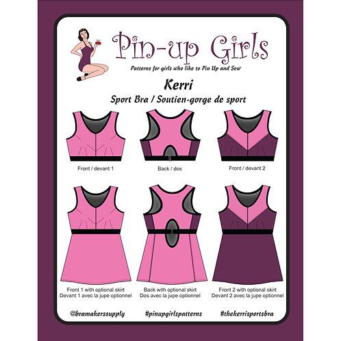 Pin Up Girls - Kerri Sport Bra/Top