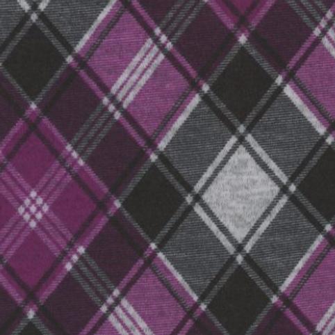 1/2 Metre Purple Plaid Sweater Knit