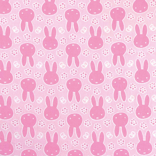 Craft Cotton Company - Miffy - Sillhouette Pink