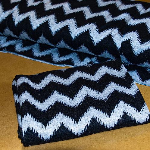 Chevron Sweater Knit 1/2 Metre