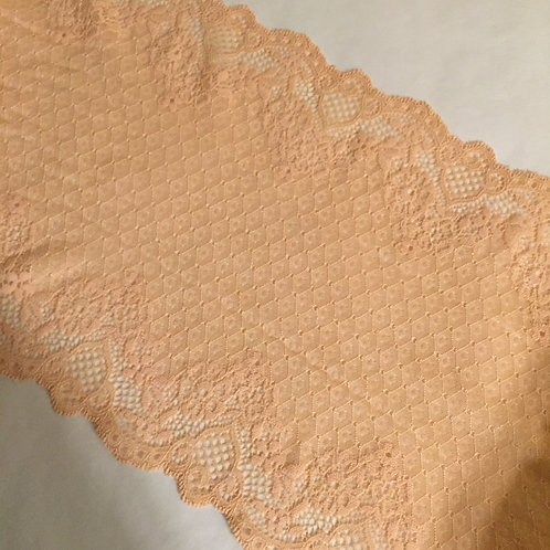"8""/20cm Vintage Apricot Stretch Galloon Lace"