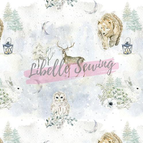 Watercolour Winter Wildlife
