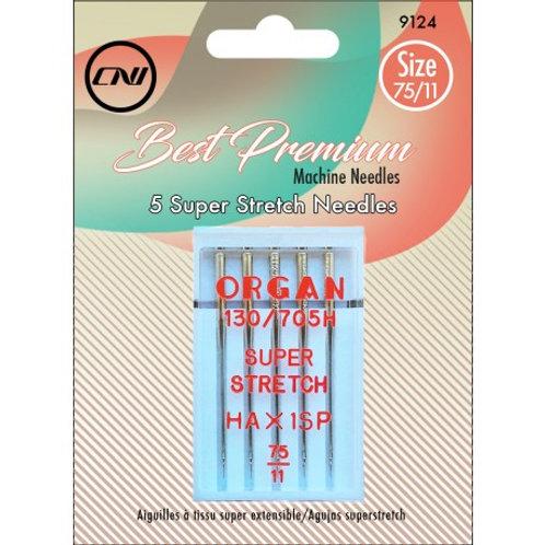 Clover (Organ) Super Stretch Needle 75/11