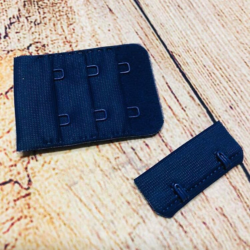 """1.25""""/3.8cm 2 Prong Navy Clasp"""