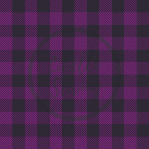 "1"" Plaid Purple"