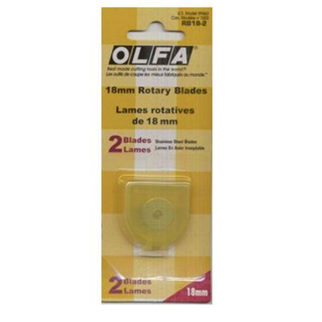 OLFA 18mm Rotary Blade (2 pack)