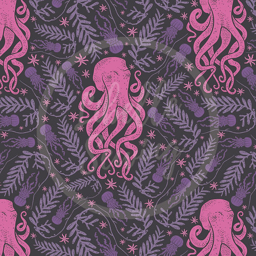 Octopus [Fuchsia] (A20-8)