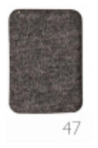 1/2 Metre Heather Charcoal French Terry