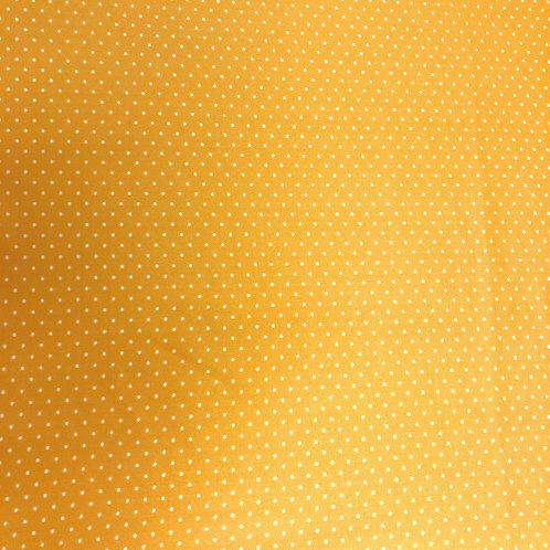 Mustard Pin Dot Scuba