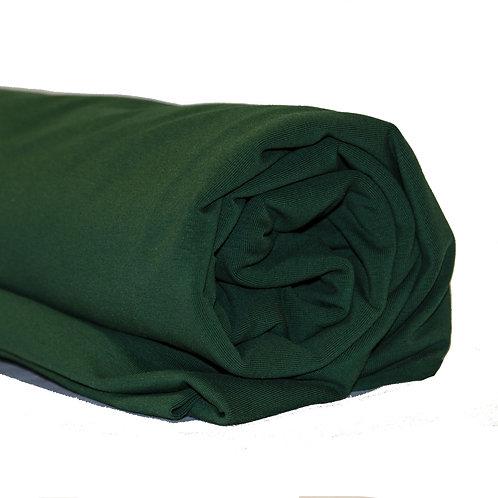 1/2 Metre Hunter Green Cotton Lycra