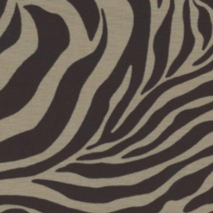 Zebra - Taupe & Brown