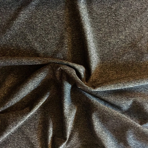 Canadian Made Heather Charcoal Supplex 1/2 Metre