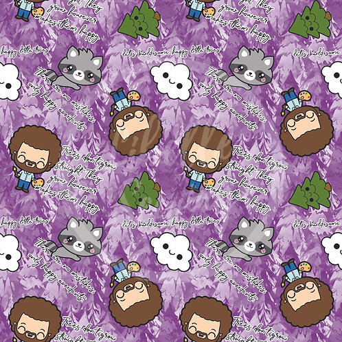 Bob Ross (Purple) (D19)
