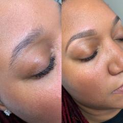 Brow Wax and Makeup Fill