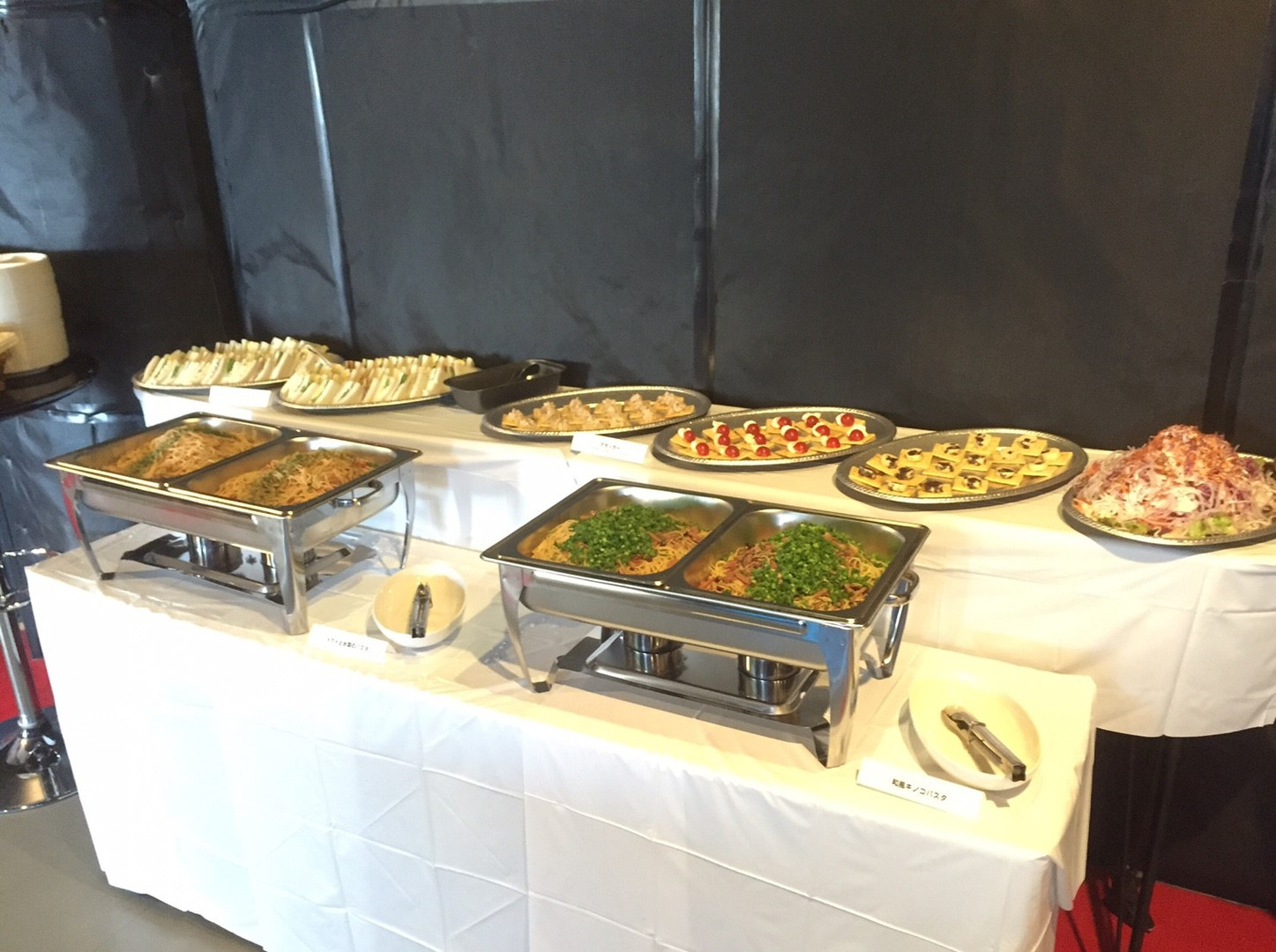 PARTY FOOD(toplus提供)