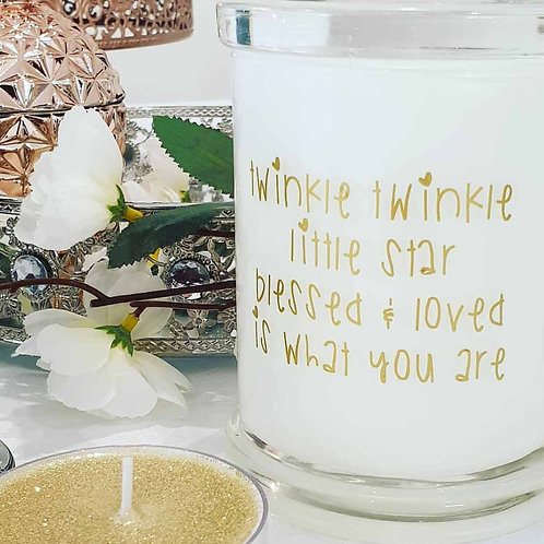 Twinkle Soy Candle - Large