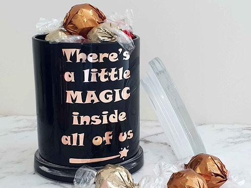 A Little Magic Halloween Large Jar
