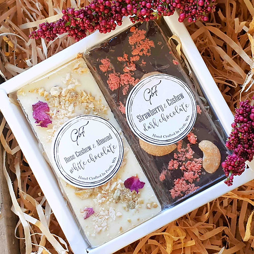 Gourmet Chocolate Duo Gift Boxed Set