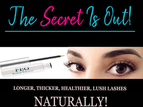The Best NATURAL Lash Product EVER!