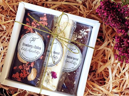 Gourmet Chocolate Trio Gift Boxed Set