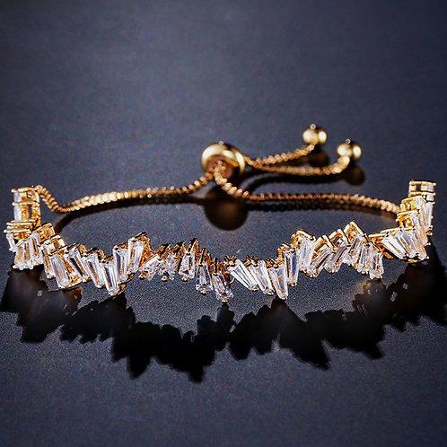 Moonlit Baguette Bracelet