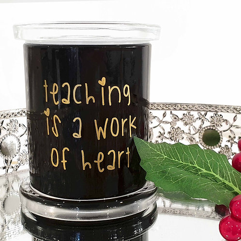 Teacher's Thank You Soy Candle - Medium