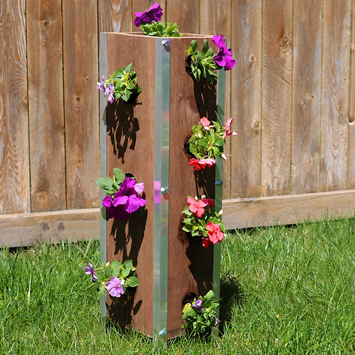 Natural Vertical Garden
