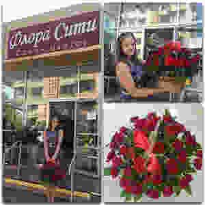 Корзина роз купить цветы и букеты с доставкой в Адлере