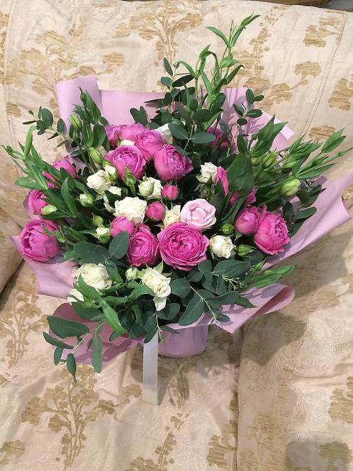Пионовидные розы Адлер