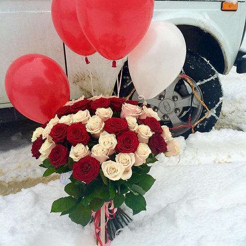 Букет роз Адлер доставка недорого
