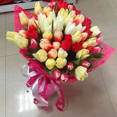 Купить букет тюльпанов в Адлере
