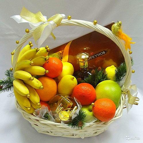 Корзина фруктов с доставкой в Адлере Новый год