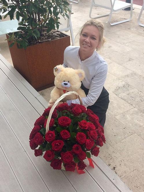 Красные розы купить