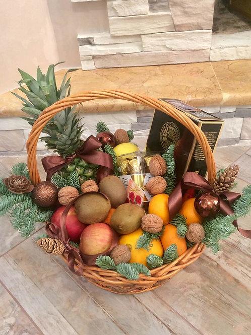 Корзина фруктов доставка
