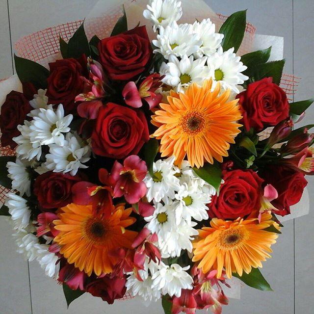 """Букет """"Красочная осень""""купить цветы и букеты с доставкой в Адлере"""